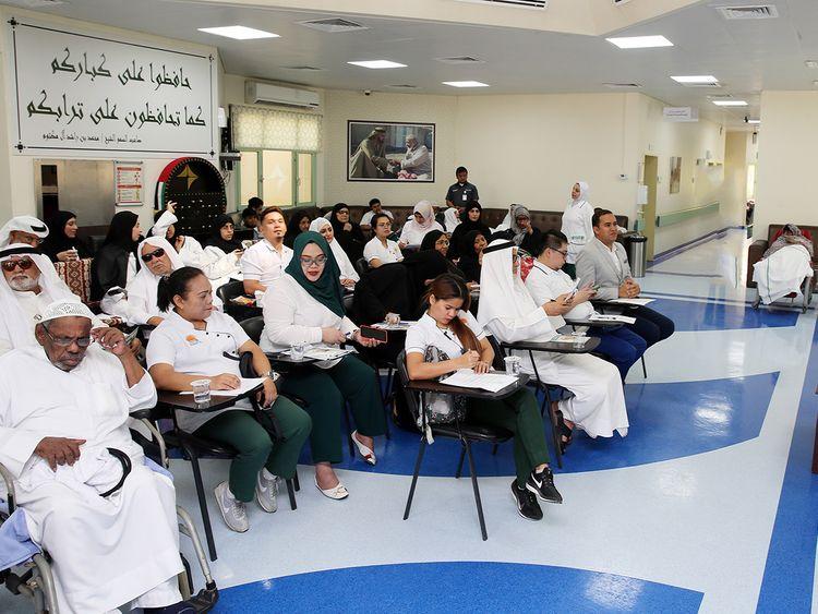 Dubai Health Authority Friends of Alzheimer's