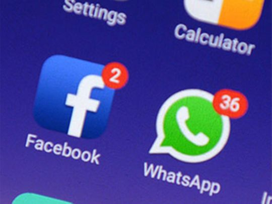 FB and WhatsApp