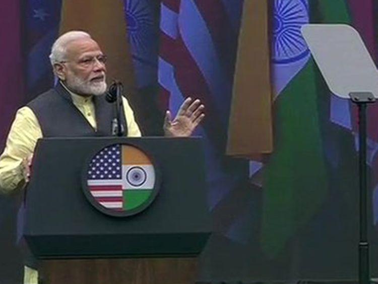Modi talks to Texas