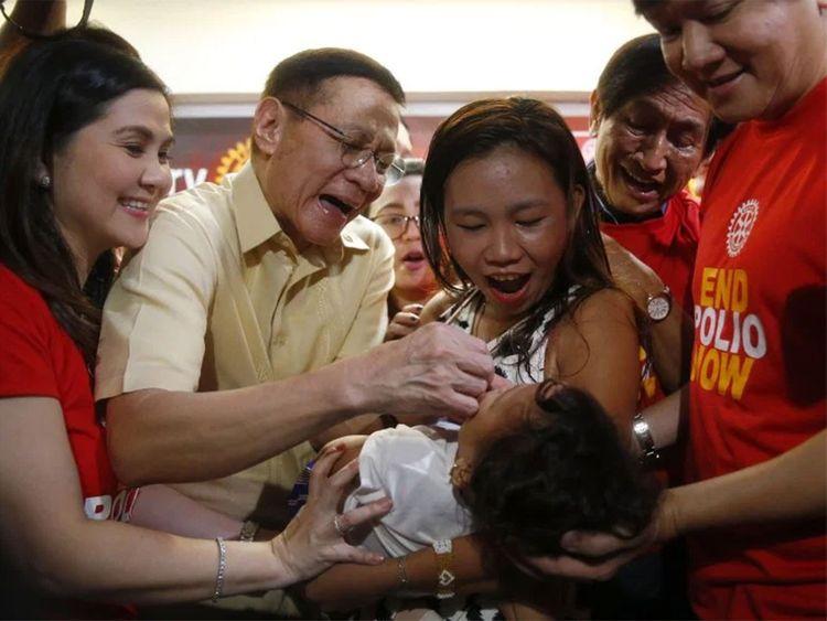 Philippines polio vaccine