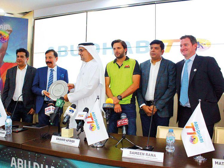 Shahid Afridi's Team Qalandars are Abu Dhabi T10's newest member