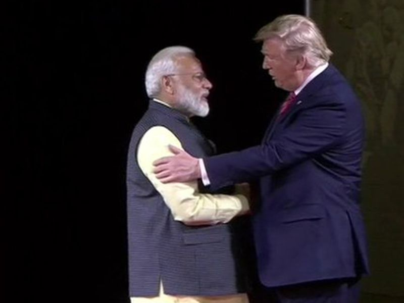 Trump and Modi meet in Houston