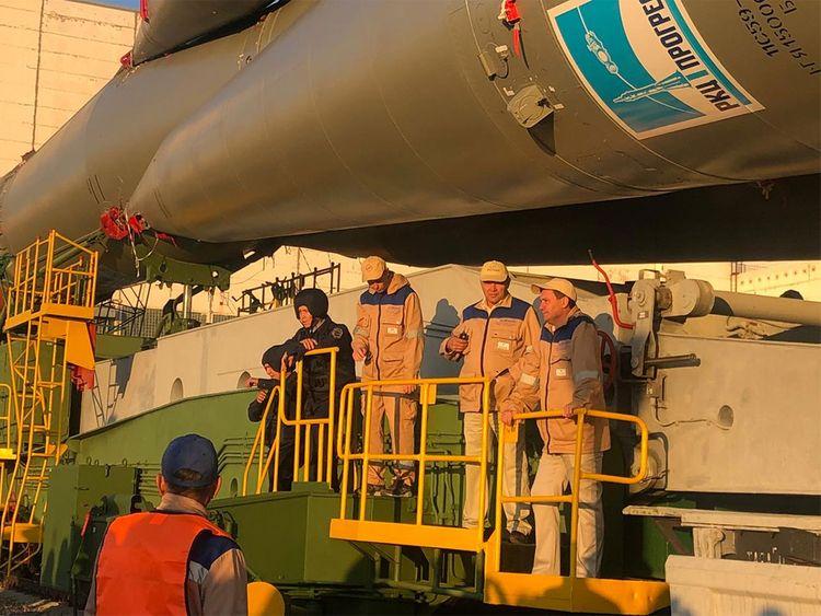 190923 soyuz rocket