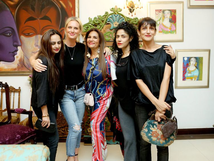 Frieha Altaf with Shaniera Waseem Akram, Angeline Malik and others-1569221161385