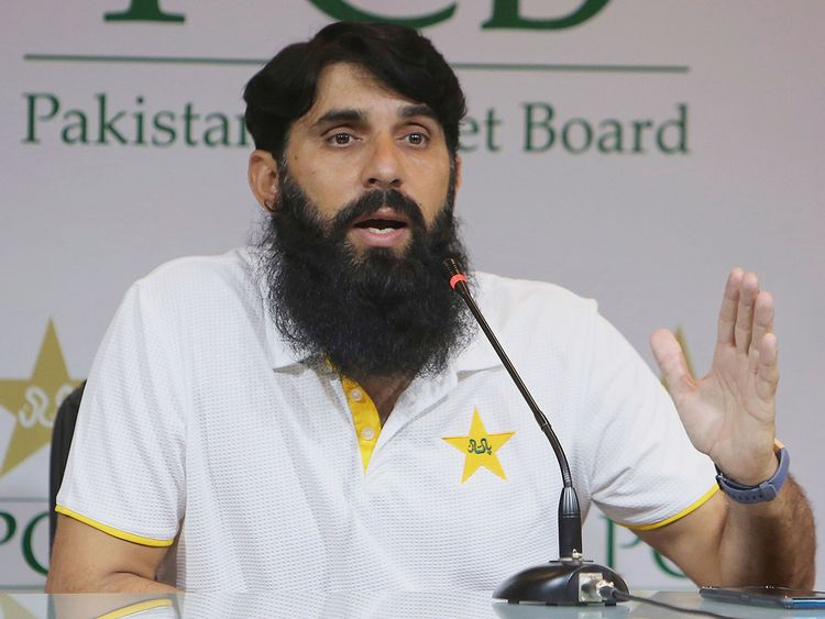 Misbah-ul-Haq, head coach and chief selector of Pakistan Cricket