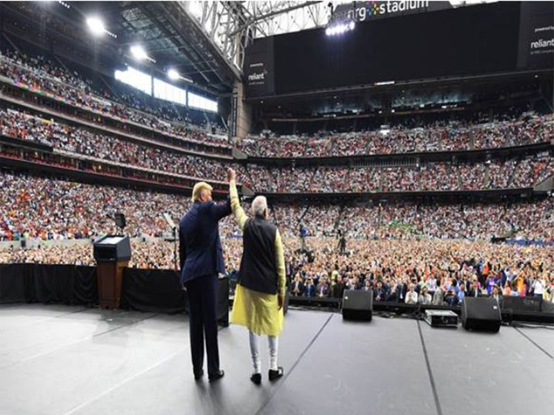 Modi Trump Texas