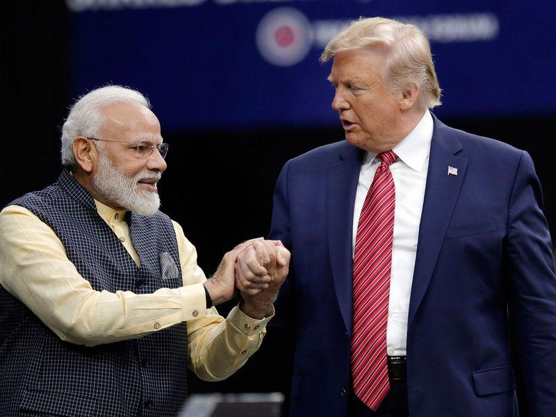 Prime Minister Narendra Modi and President Donald Trump 0121