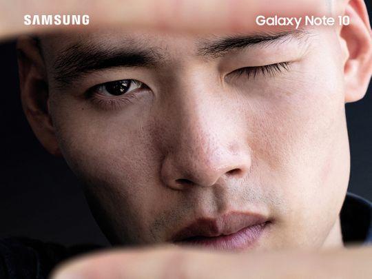 Samsung Note 10 creative capture