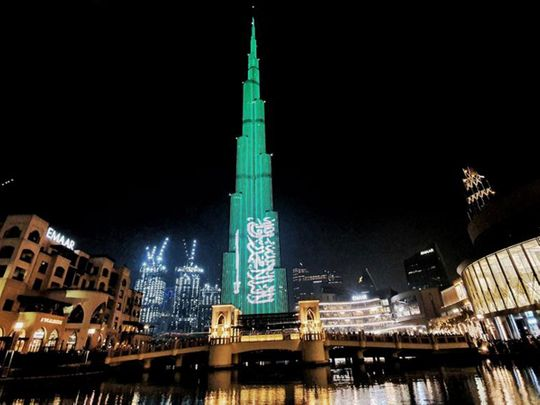 Saudi National Day in the UAE: Fireworks, Burj Khalifa light-and-sound shows, concerts | Gulf ...