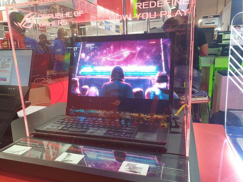 ASUS ROG Mothership laptop.