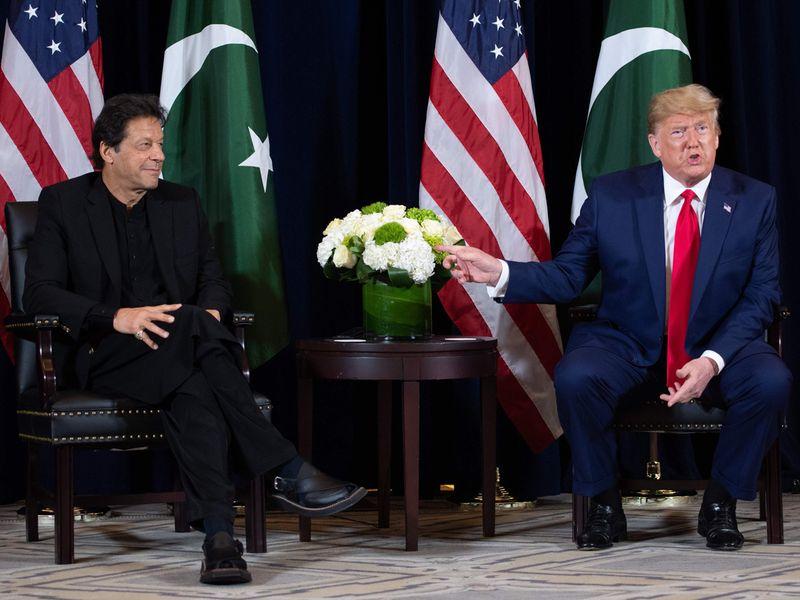 Imran Khan Trump