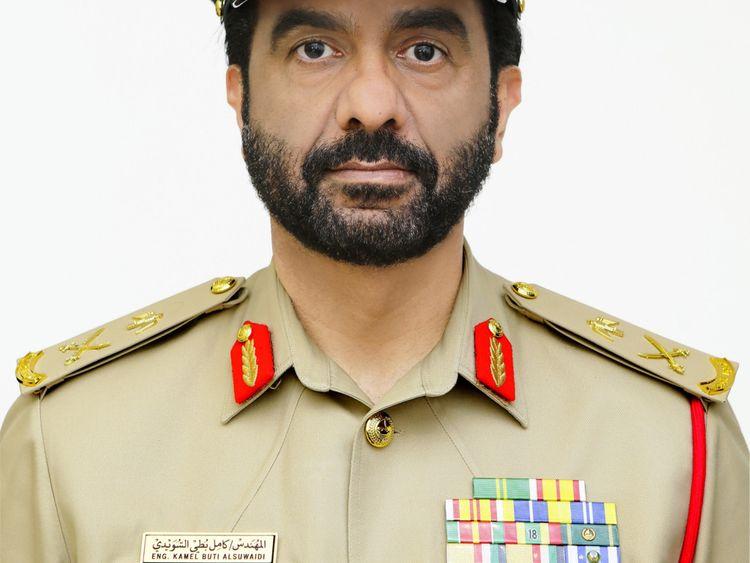 NAT Major General Eng. Kamel Butti Al Suwaidi-1569324670236