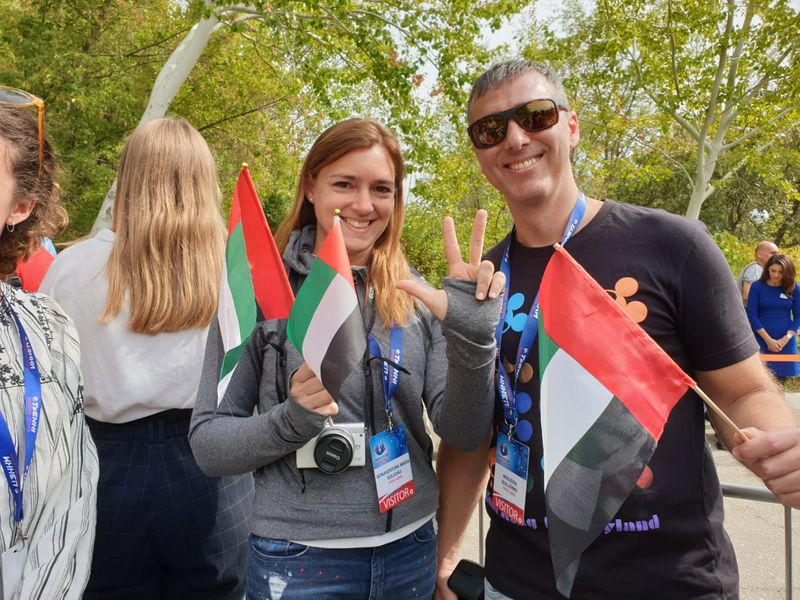 Dubai expats at Hazzaa mission