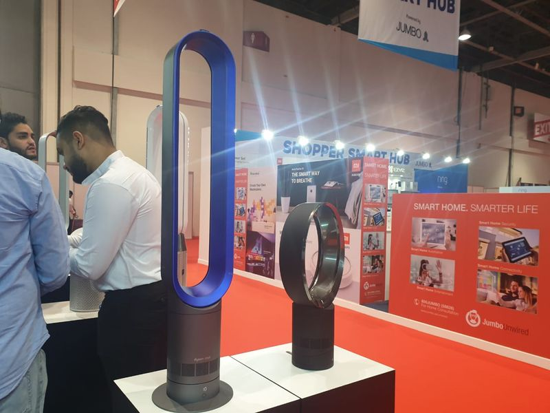 The Dyson Cool AM07 tower fan