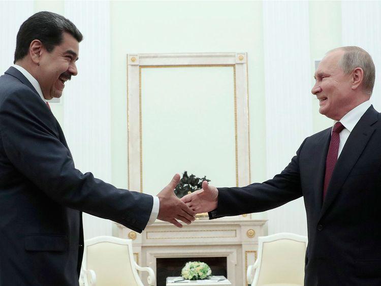 Vladimir Putin Nicolas Maduro
