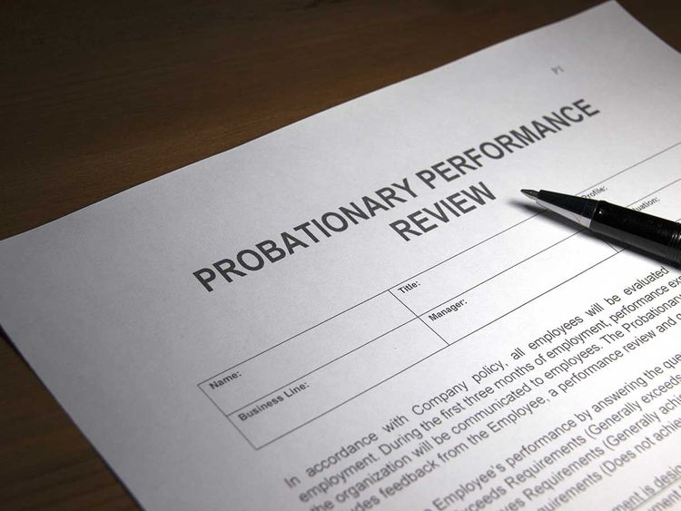 190926 probationary performance review