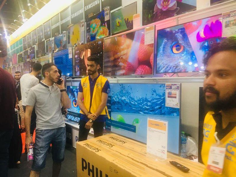 4K TV screens Gitex Shopper 05