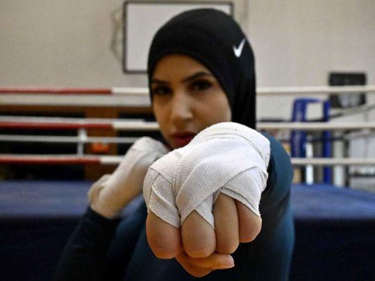 Boxer Zeina Nassar