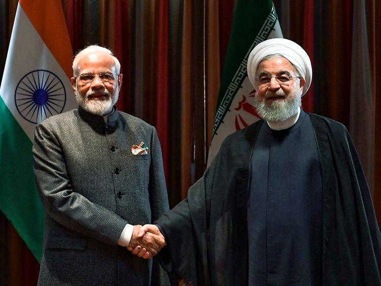 190927 Modi Rouhani