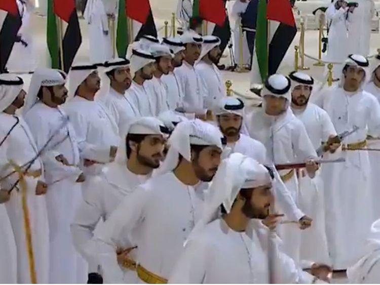 Al Nahyan & Al Maktoum family wedding