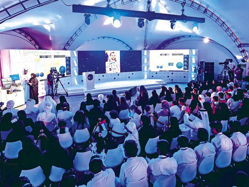 Emirati Astronaut Hazzaa