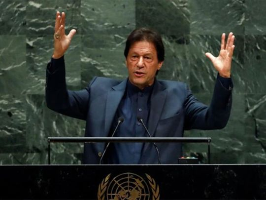 Takeaways from Imran Khan's speech at UN General Assembly | Asia – Gulf News