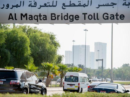 NAT 190904 Maqta Bridge Toll Gate AKK11-2-1569662554858