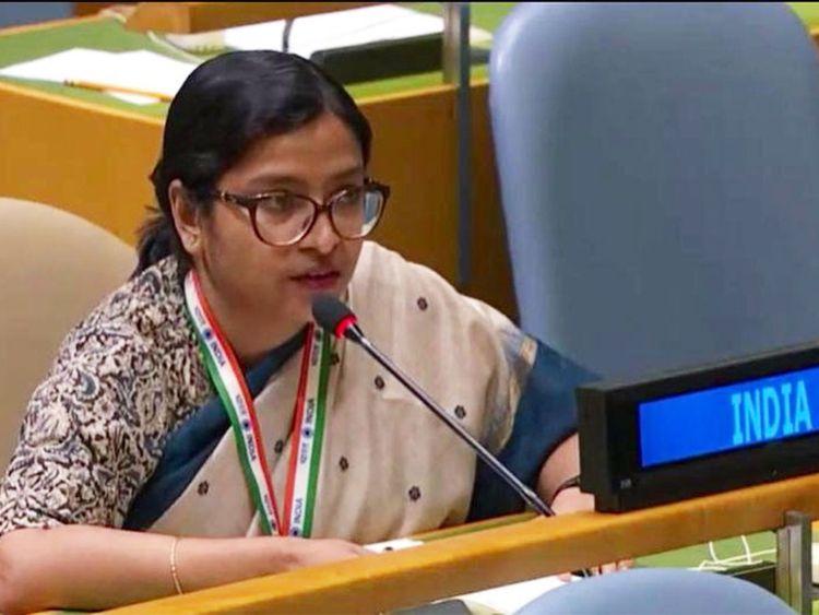 Vidisha Maitra, First Secretary of India's Ministry of External Affairs