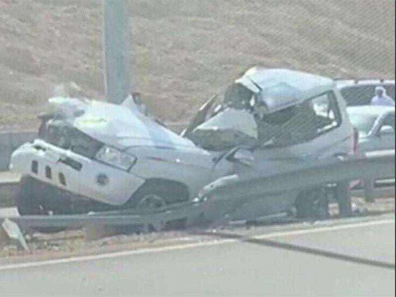 Car crash in Al Ain