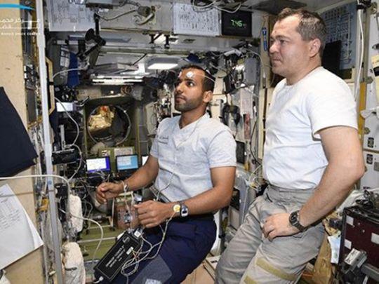 Hazzaa AlMansoori in space
