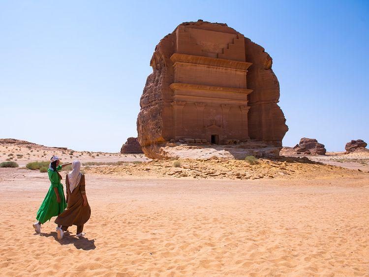 Madain Saleh in Al Ula