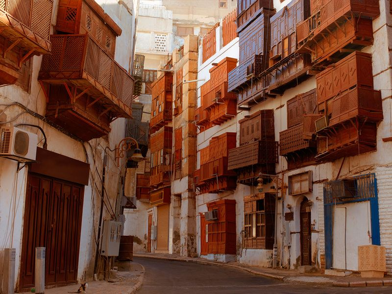 Old city of Jeddah