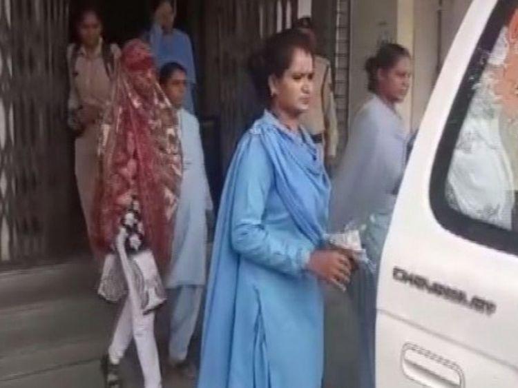 The five women Shweta Vijay Jain, Shweta Swapnil Jain, Barkha, Aarti Daya