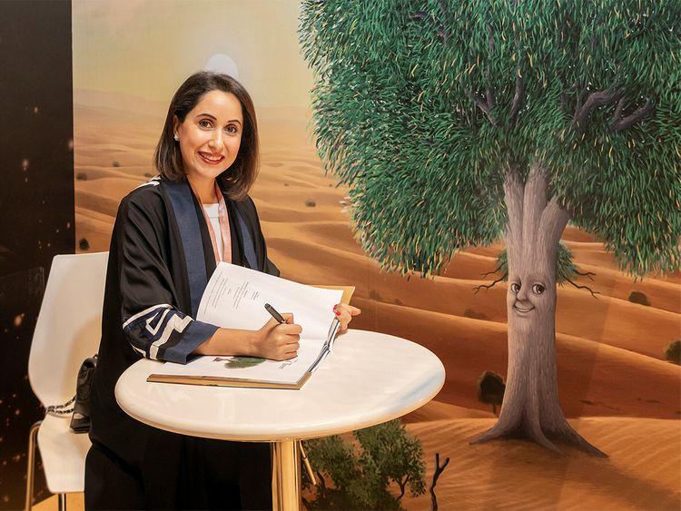 Emirati author Hanadi Al Fahim