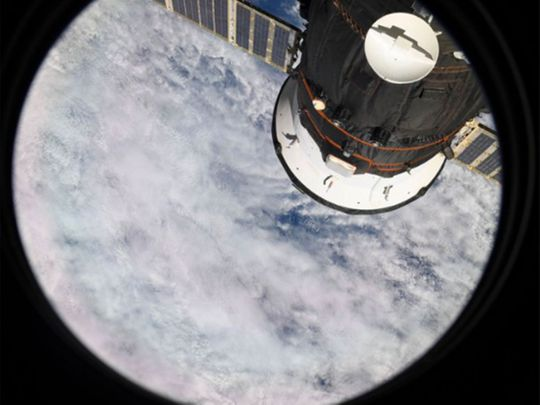 Hazzaa first photo from space