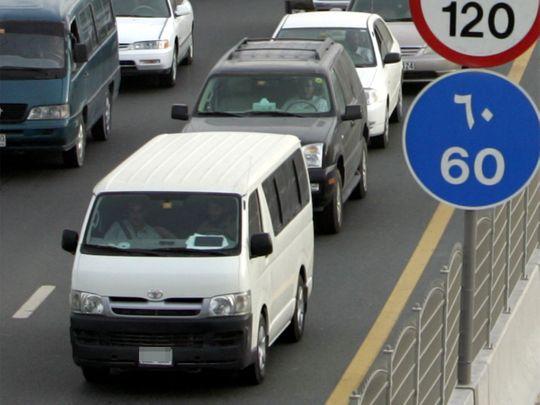 Minibus in the UAE