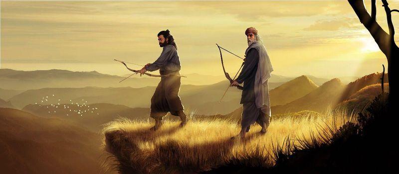 Narasimha and his guru.