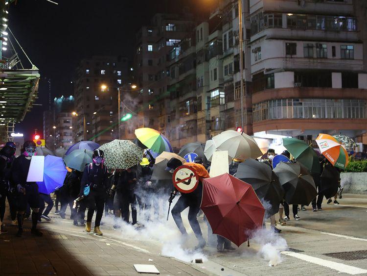 Hong Protests