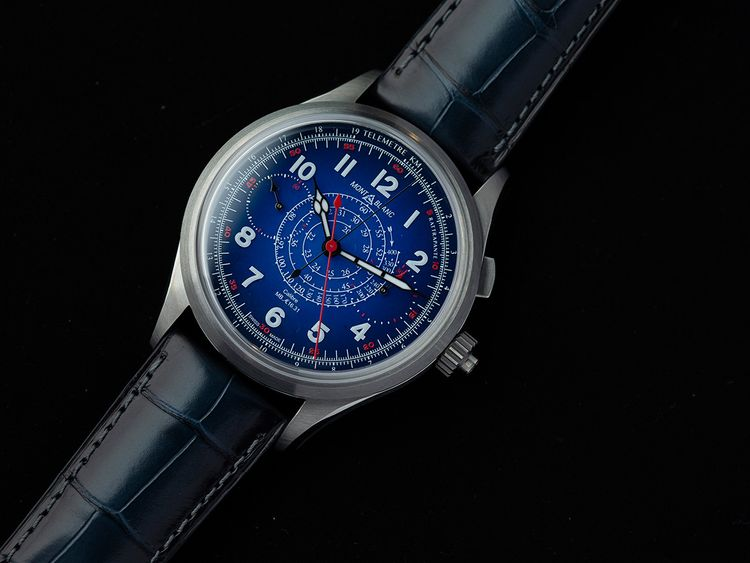 Montblanc 1858 Split Seconds Chronograph Only Watch