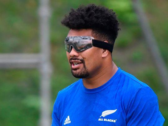 New Zealand's flanker Ardie Savea