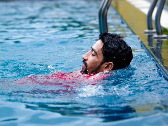 Off the cuff: Swimming and shivering in the rain