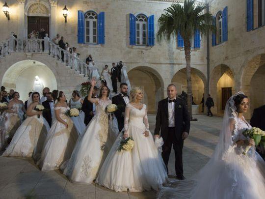 REG 190915 LEBANON WEDDINGS _MASS WEDDINGS - NYT-1569933218387