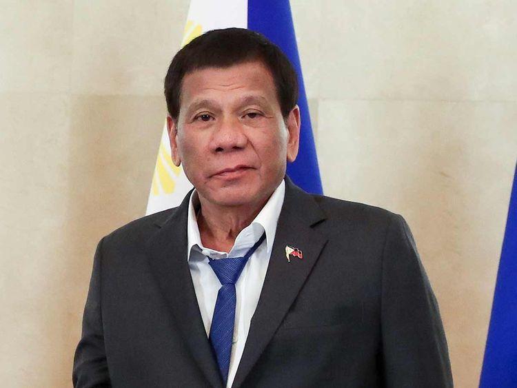 Philippine President Rodrigo Duterte 20191002