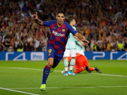 Champions League: Luis Suarez hits brace as Barcelona hit back to beat Inter Milan