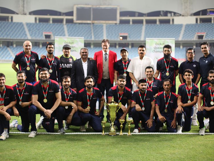 Mavericks Cricket Club with ANIB
