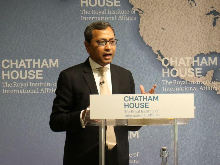 NAT 191003 Chatham House - Sunil John-1570101100588
