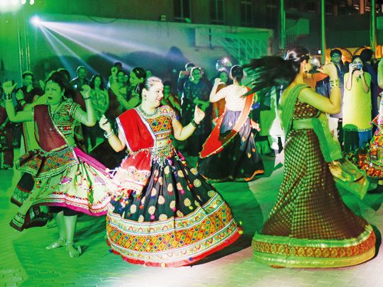 In pictures: Indian expats celebrate Navratri in Dubai