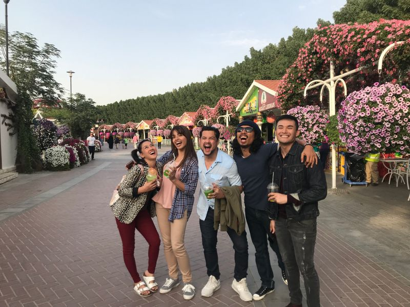 Shoot of Filipino series in Dubai