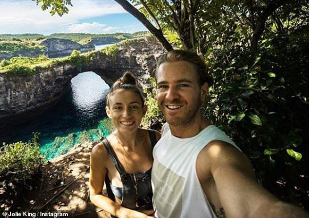 British-Australian Jolie King and her fiance Mark Firkin 001