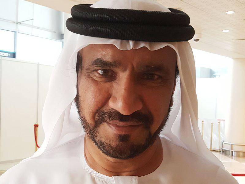 Emirati voter Mohammad Al Muhairi
